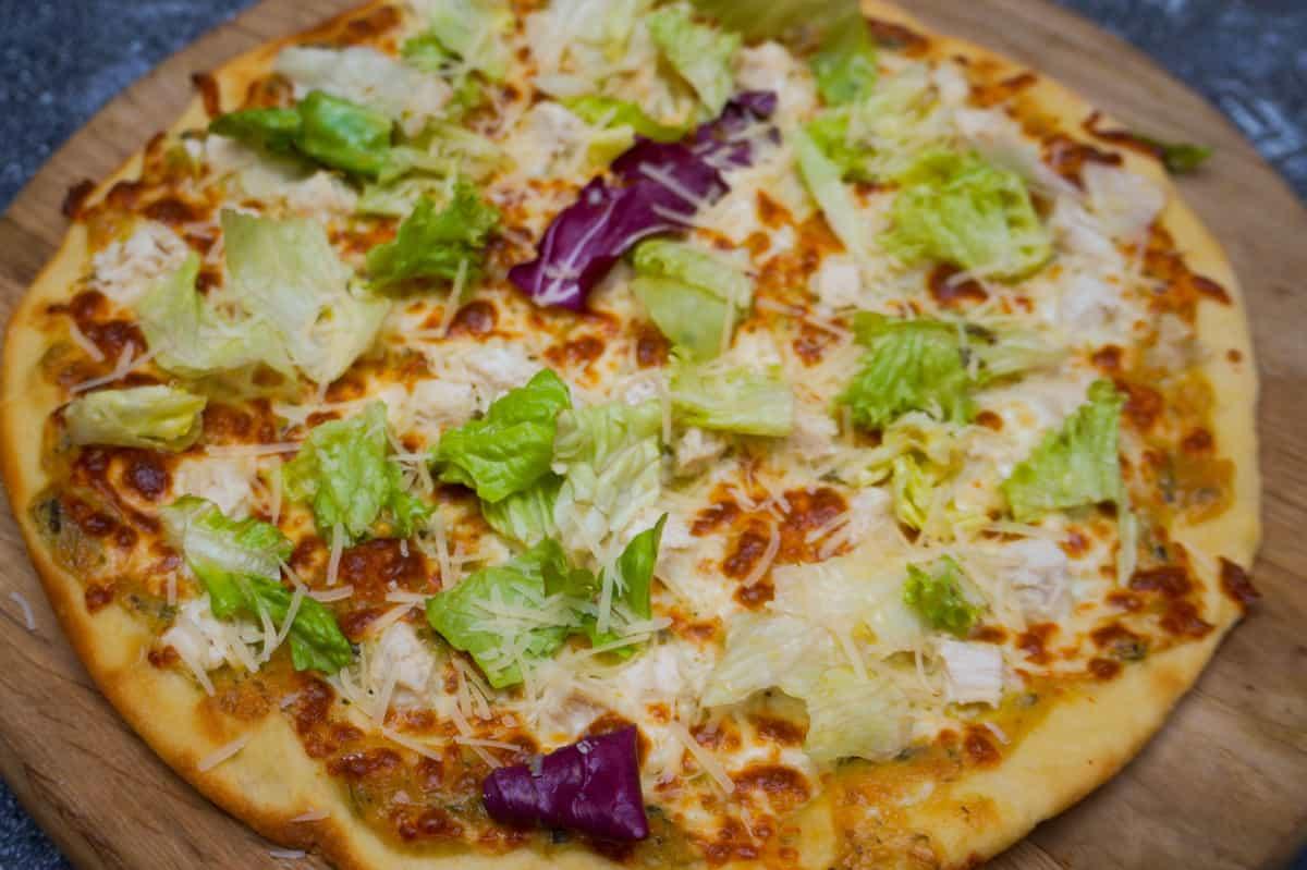 Фото пиццы Цезарь